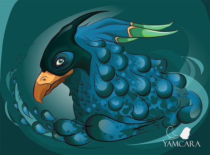 Bird Memory By Jamcara by Jamcara on DeviantArt  #ink #sketch #illustration #drawing #dibujo #sketch #art