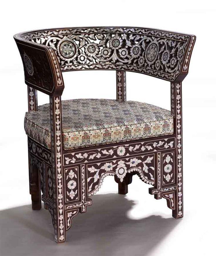 1230 best syrian decor images on pinterest damascus - Muebles estilo arabe ...