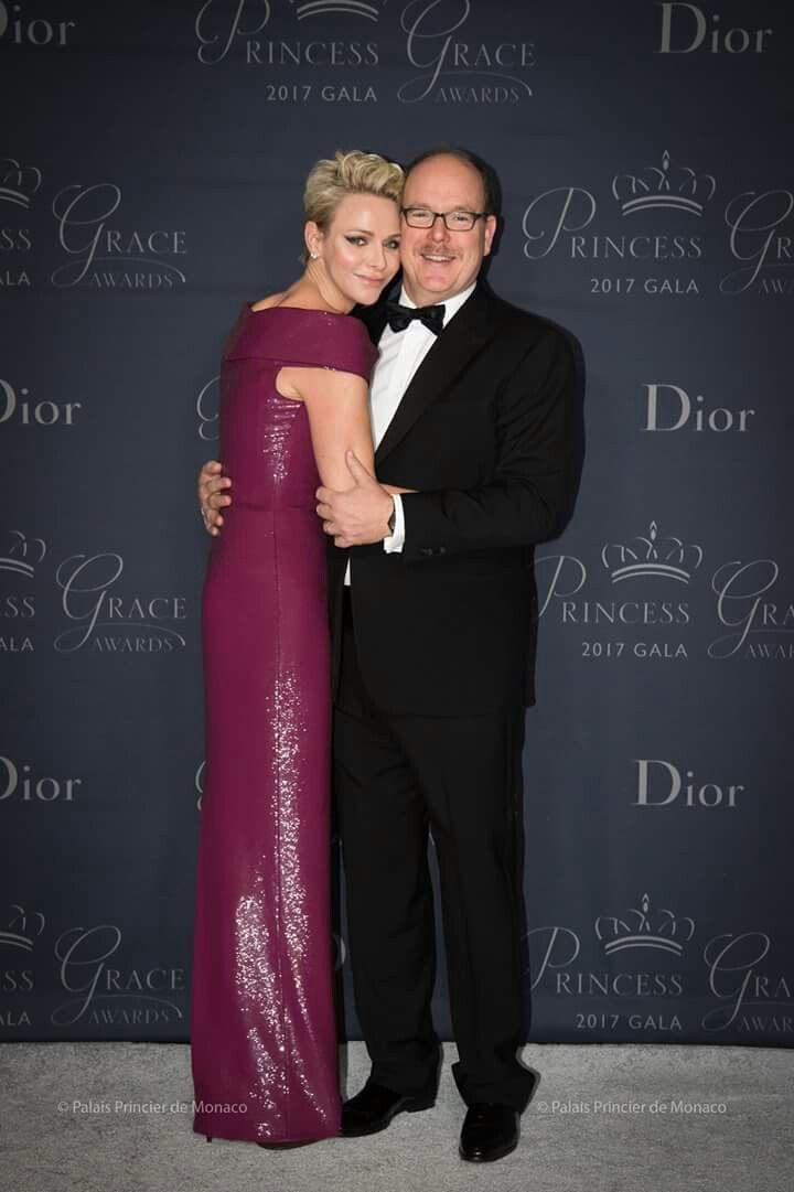 Monaco national day 2018 gala evening dresses