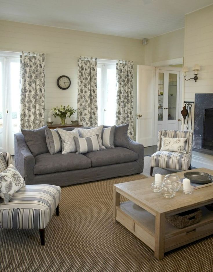 Gorgeous French Country Living Room Decor Ideas (6)