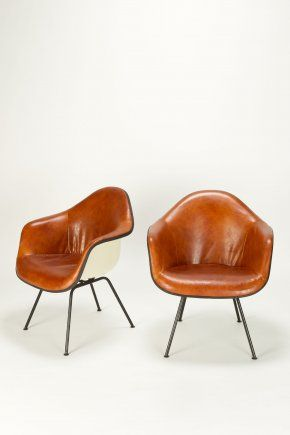 Best 25 eames chairs ideas on pinterest eames home for Leather eames dining chair