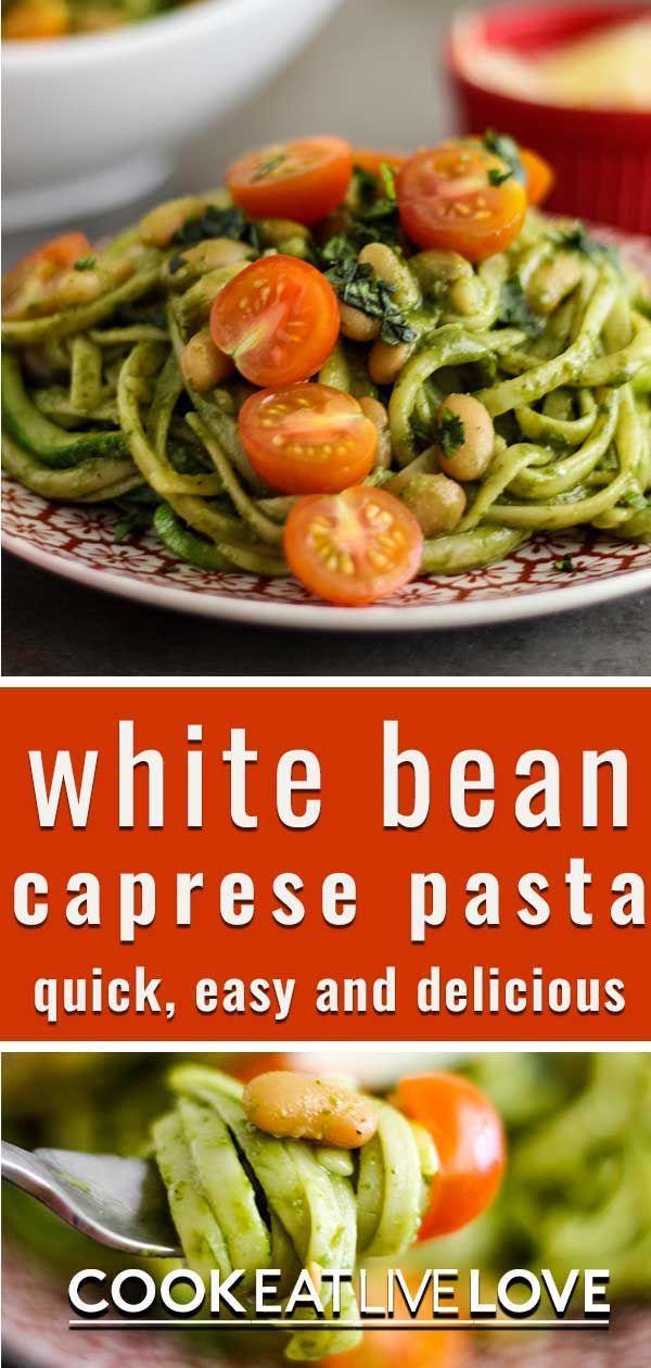 Easy Vegetarian Caprese Pasta Recipe Cook Eat Live Love Recipe In 2020 Caprese Pasta Recipe Vegetarian Pasta Recipes Pasta Dinner Recipes