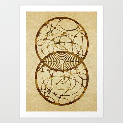 Numen Art Print by Johannes Kamikaze - $18.00