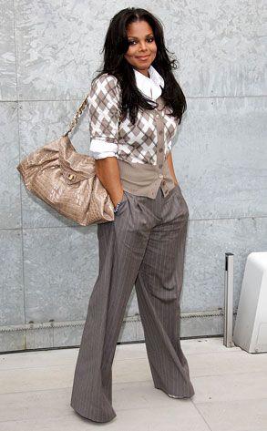 Janet rockin' the serious biz casual
