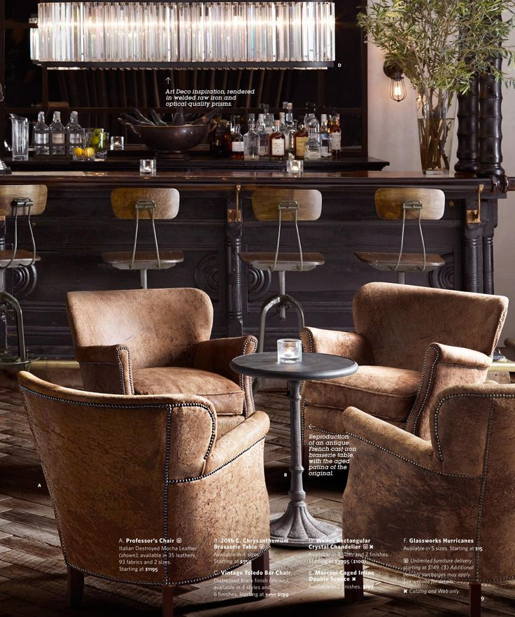 656 Best Images About Restoration Hardware On Pinterest