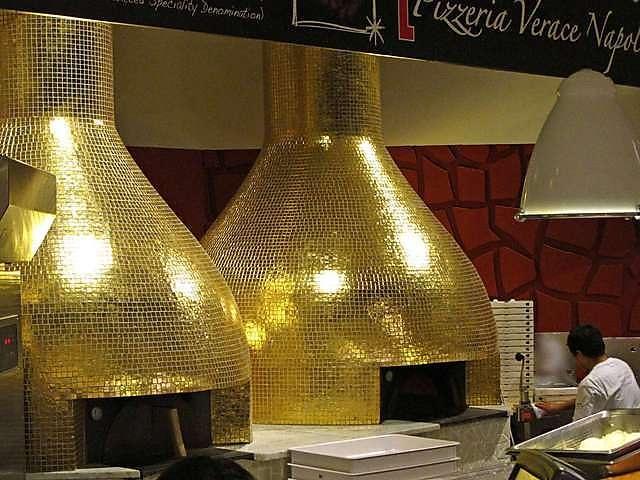 Eataly NY - brick ovens