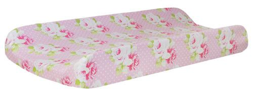 Changing Pad Cover | Sadie's Dance in Pink Bumperless