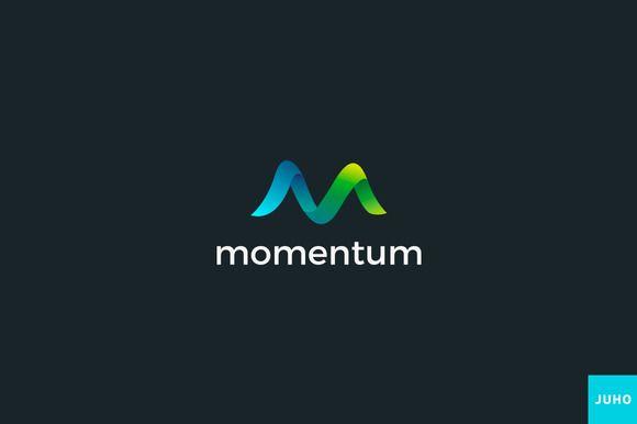 Momentum Logo Template by JuhoDesign on @creativemarket