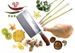 Dick Hackmesser aus der Serie 1778. Der chinesische Klassiker und das wichtigste Messer in der chinesischen Küche. Zum Schneiden von Gemüse,...