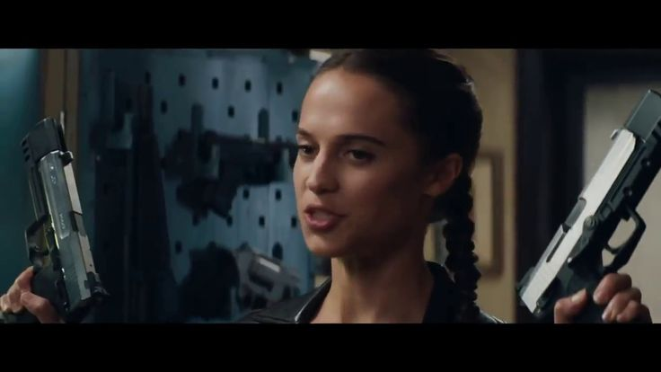 TOM RAIDER LARA CROFT 2018¡¡ TRAILER ¡¡