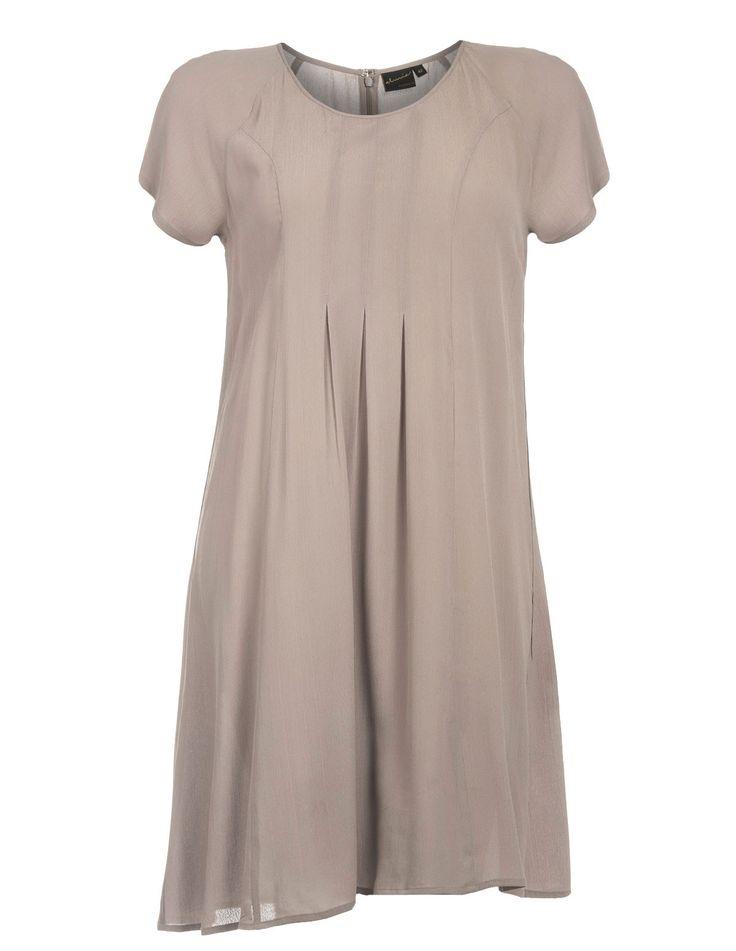 ALMIA - Basic lightweight A-cut dress - navabi
