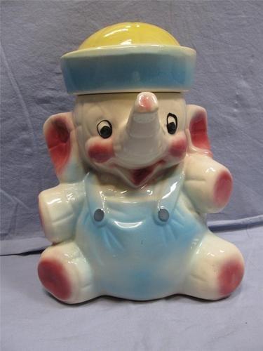 117 best images about cookie jars on pinterest ceramics vintage and vintage cookie jars - Vintage elephant cookie jar ...