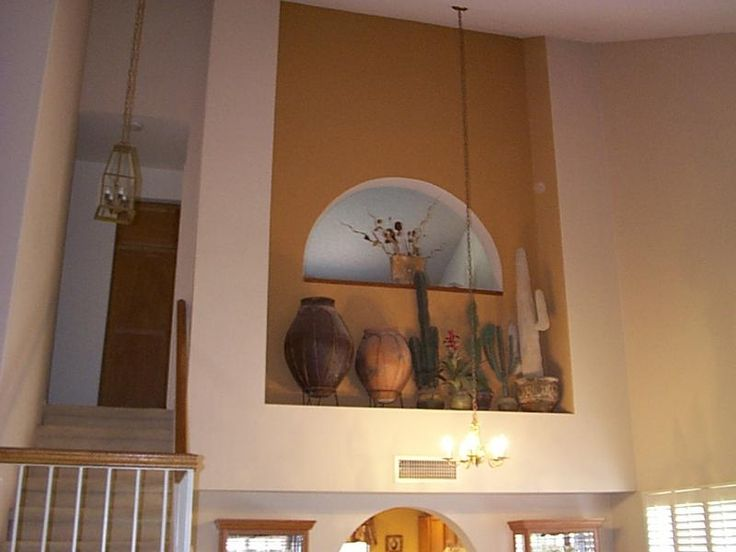 17 best images about wall niche decor ideas on pinterest for How to decorate an alcove in a wall
