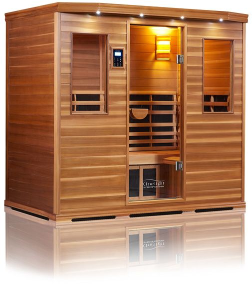 Clearlight Saunas offer spruce and cedar low EMF sauna options in different sizes and models. Browse our infrared saunas for sale with lifetime warranties.