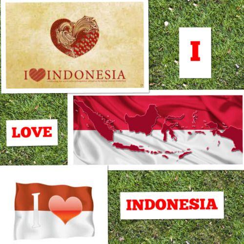 LOVE INDONESIA #PINdonesia