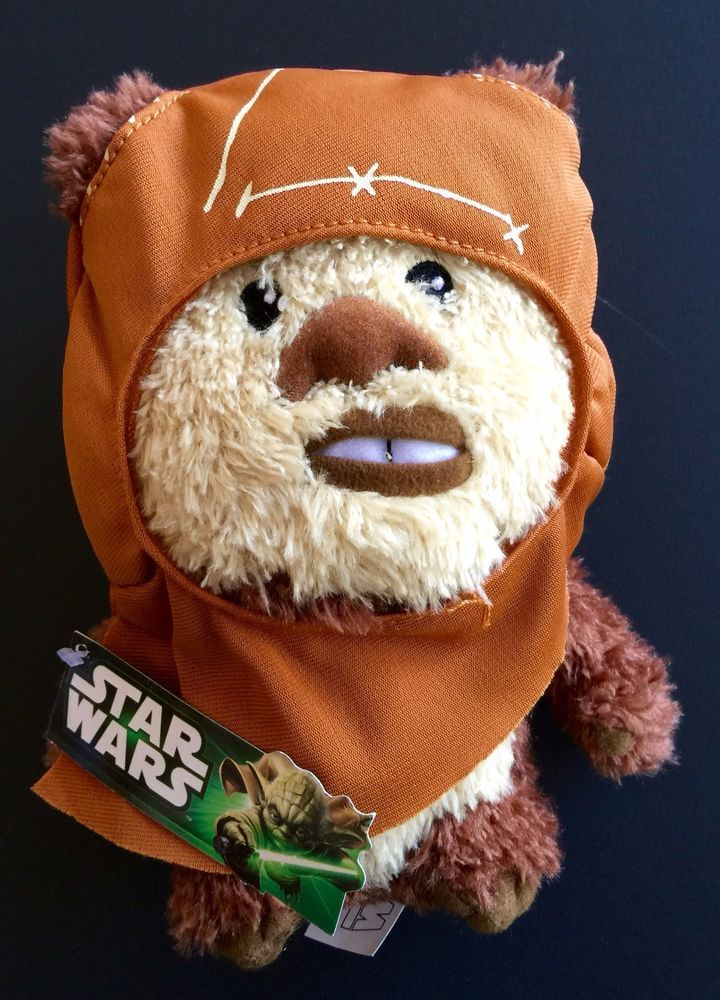 Star Wars Ewok Wicket. Super Deformed Plush Doll. Comic Images. Coming soon - 100 % pure essential oils, New Print T shirts --- mugs--- & hats. I LOVE GOOD STUFF! PO Boxes, FPO, or APO.   eBay!