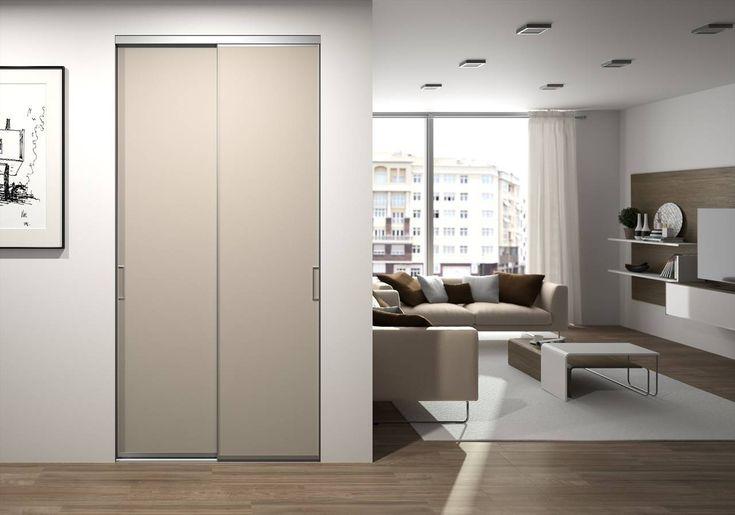 Idée déco pour votre entrée, portes de placard coulissantes moderne