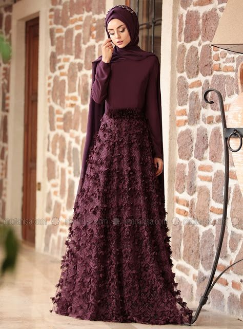 Les 15 Robes de Soirées Hijab les plus Chics , Style 2018 , Hijab Fashion  and Chic Style FacebookTwitterGoogle+YouTube