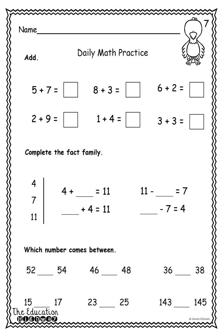Worksheet Work For First Graders 1000 ideas about math for first graders on pinterest pirates morning includes 26 pages with three concepts each page that can be used work homew