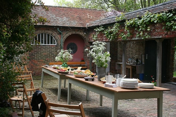 Perfect place for garden lunch