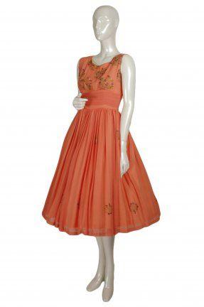 vintage sari dress