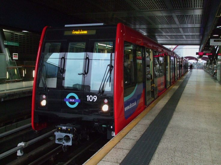 Docklands has its own train system run by Transport for London.