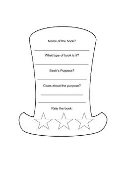 Using Dr. Seuss's Hat I have created a mini report on the author's purpose. I use these hats for my bulletin board for Read Across America Day....