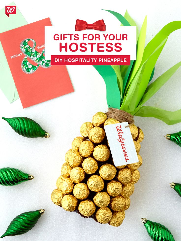 Win best guest with this bubbly and chocolatey spin on the traditional Italian symbol for hospitality, complete with a Hallmark Signature card. So easy to assemble and so impressive to give.