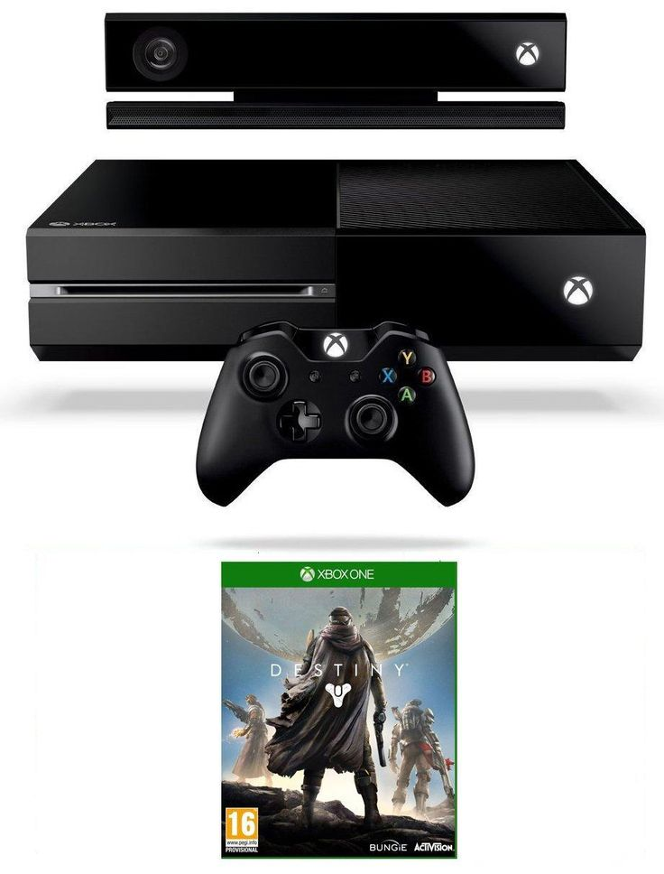 TRENDING Xbox One Console with Destiny and Connect including chat headset £349
