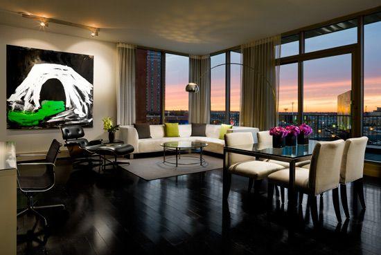 Le m ridien minneapolis luxury hotel penthouse living room house pinterest minneapolis for The living room minneapolis mn