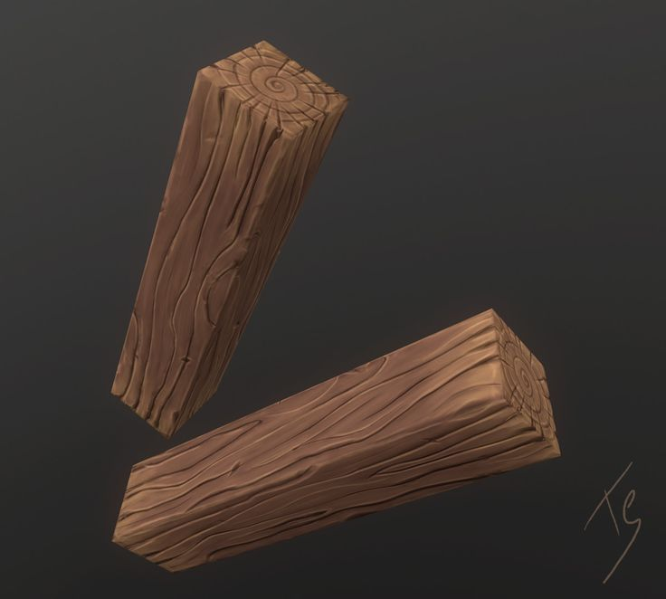ArtStation - Handpainted wood, Targo Sirol
