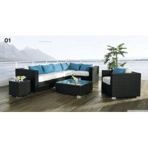 Elegant Sofa 8 Pcs Set