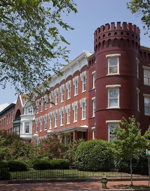 Row Houses, East Capitol St., Washington, D.C.by Carol Highsmith
