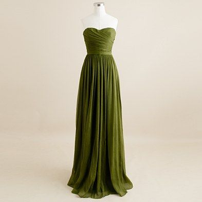 66 best images about creative colour olive green for Olive green wedding dresses
