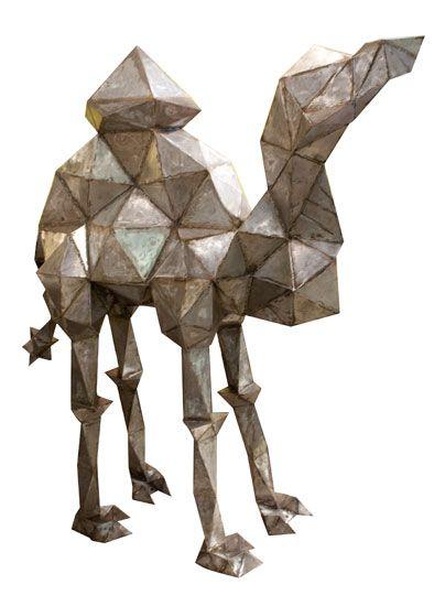 """Dromedary, 2013"" Steel Camel by Louise Emily Thomas"