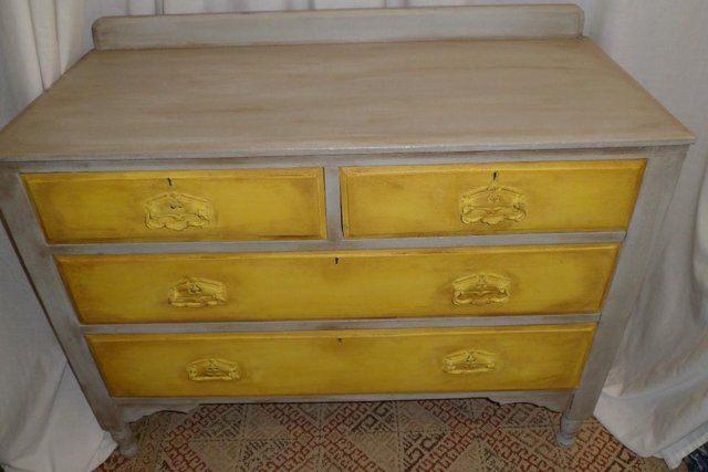 REDUCED Set of solid stripped pine wood vintage drawers For Sale in Catterick Garrison, North Yorkshire | Preloved