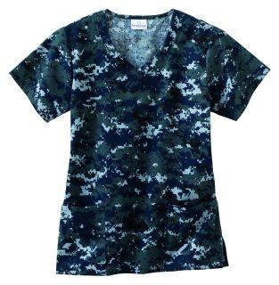 Navy Camo Scrubs #medical #nursing #scrubs