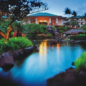 Grand Hyatt Resort in Kauai, Hawaii