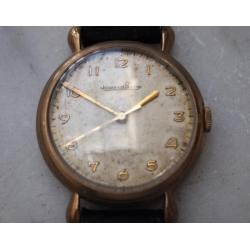Info  Product Image  Vintage 1951 Jaeger Lecoultre Rose Gold Watch