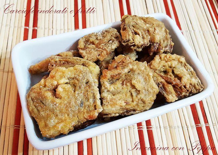 I carciofi indorati e fritti sono un piatto tipico partenopeo che non può mancare sulle tavole dei napoletani, la domenica. Semplicissimi da preparare...