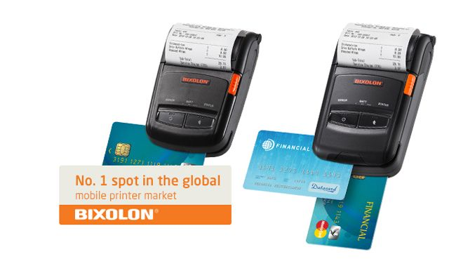 SPP-R210 Mobile Printer, Portable Printer - Bixolon