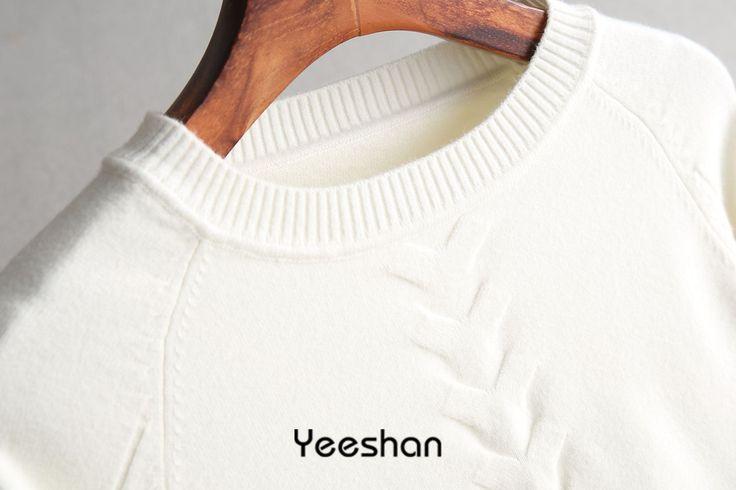 Yeeshan зимний свитер 2017, женская обувь круглым вырезом Mujer свитер черный, белый цвет верблюд элегантный длинный рукав Invierno кашемир женские джемперы купить на AliExpress
