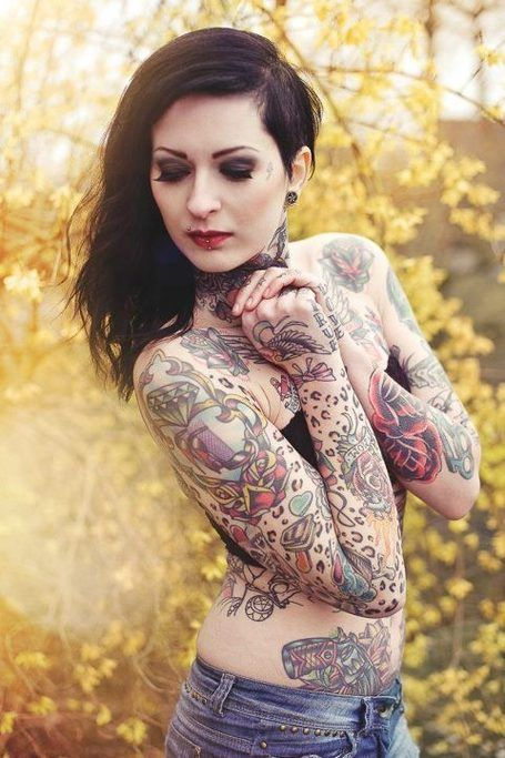 Inked Girls Magazine  Tattoo, Lower Stomach Tattoos And Lower Stomach-7377