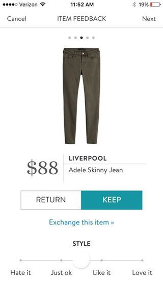 Liverpool Adele Skinny Jean - have a red pair and would love them in a more neutral color like this one