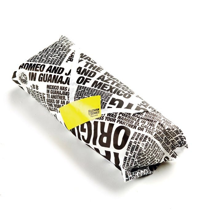 text packaging wrap