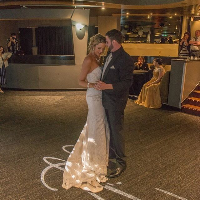 """CLIENT FEEDBACK // """"Kirk and I just wanted to say a big thank you to Brian and the team at G&M Event Group for making our wedding and dance floor so amazing. Everything was so beautiful and professional."""" - Louise & Kirk // Thanks for sharing with us! 