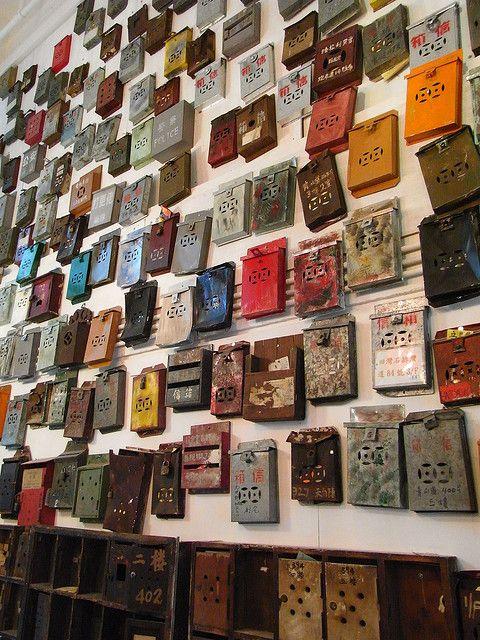 Letter boxes - Hong Kong