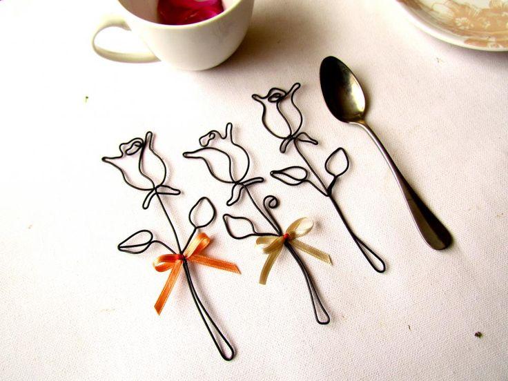 Dekorácie - čajové ruže - 3957757_