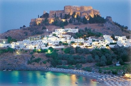 Lindos, Rhodos Island, Greece. My favourite place in the world cos this is where I married my beautiful wife.