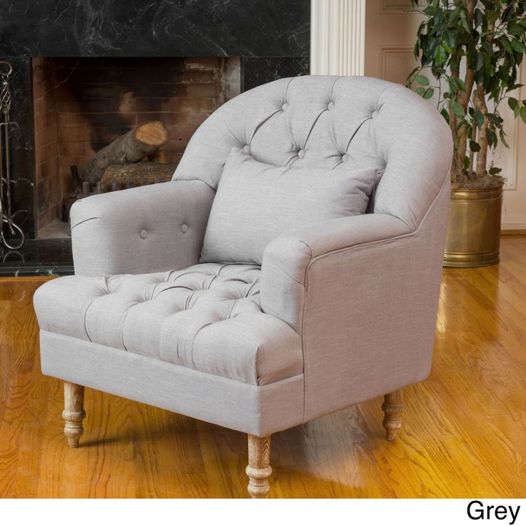 Anastasia Tufted Chair by Christopher Knight Home (
